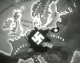 Stock Video Footage of World War 2 - Map Annimaton