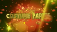 Stock Video Footage of 2013 costume party 0104