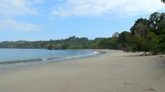 Manuel Antonio Beach Costa Rica 4 - stock footage