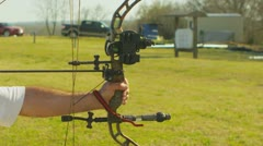 Stock Video Footage of Archery (slow motion) 7