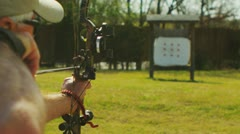 Stock Video Footage of Archery (slow motion) 8