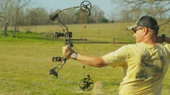 Stock Video Footage of Archery (slow motion) 9