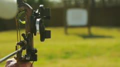 Stock Video Footage of Archery (slow motion) 11