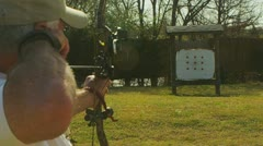 Stock Video Footage of Archery (slow motion) 22