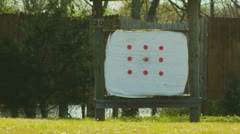 Stock Video Footage of Archery (slow motion) 32