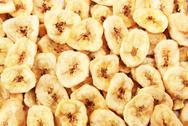 Banana chips Stock Photos