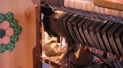 Weaving Loom Stock Footage