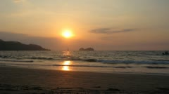 Playa Hermosa Costa Rica Sunset 2 Timelapse Arkistovideo