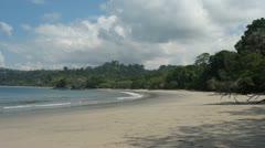 Manuel Antonio Beach Costa Rica 6 Timelapse Stock Footage