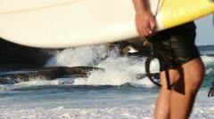 Stock Video Footage of Dangerous sea current, Australia