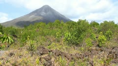 Arenal Volcano 4 Stock Footage