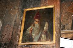 khor virap monastery in armenia - stock photo
