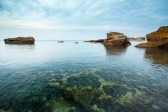 Stock Photo of Biarritz seascape