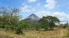 Arenal Volcano 1 Stock Footage