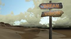 dream - vision - stock illustration