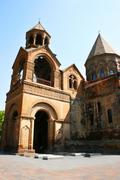 Ancient apostolic church in armenia Stock Photos