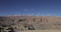 Time lapse, Bamiyan villages, Afghanistan. 4K res. Stock Footage