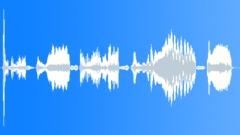 Cartoon cold voice - sound effect