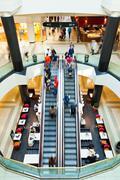 Stock Photo of Livingin a mall