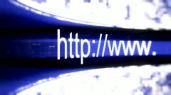 Http access web pages 29 Stock Footage