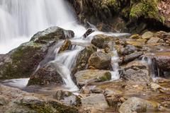 Silkinpehmeä vettä luonnossa Kuvituskuvat
