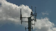 Cell Phone Tower Stock Footage