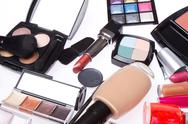 Stock Photo of set of cosmetic makeup products