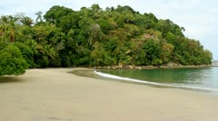 Manuel Antonio Beach Costa Rica 5 - stock footage