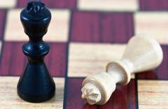 Checkmate in chess Stock Photos
