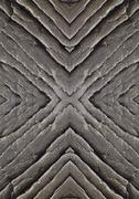 symmetrical image abstract stone - stock photo