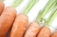 Stock Photo of fresh carrots