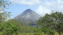 Arenal Volcano 2 Stock Footage