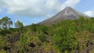 Arenal Volcano 10 Stock Footage