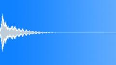 Stock Sound Effects of Electronic Vibrato Impact