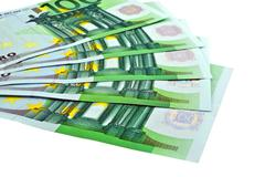 European banknotes Stock Photos