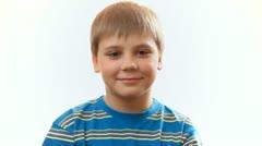 boy child boy teen schoolboy laughing - stock footage