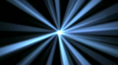 Light Beams of Blue - stock footage