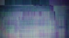 Abstract background - broken display. Vintage toned motion background. Stock Footage