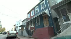 Low Income Homes 1 - Two Clips in One - stock footage