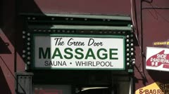 Massage,sauna,whirlpool Stock Footage