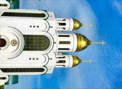 Kaliningrad, Temple of Christ Rescuer - stock photo