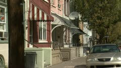 Low Income Homes 2 - Two Clips In One Stock Footage
