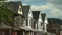 Homes Houses 3 - Two Clips in One - stock footage