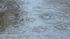 Raining Concrete Stock Footage