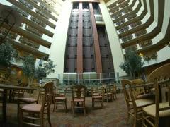 Embassy suites elevator timelapse Stock Footage