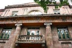 building in armenia - stock photo