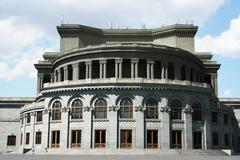 Stock Photo of opera theater in yerevan