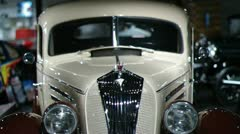 1936 hudson deluxe 8 business coupe Stock Footage