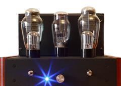 Vacuum tube amplifier Stock Photos
