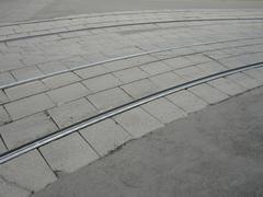 Stock Photo of street railway